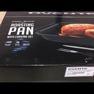 Non stick oven roasted pan new in box 📦